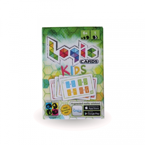 Logic Cards Green: Kids